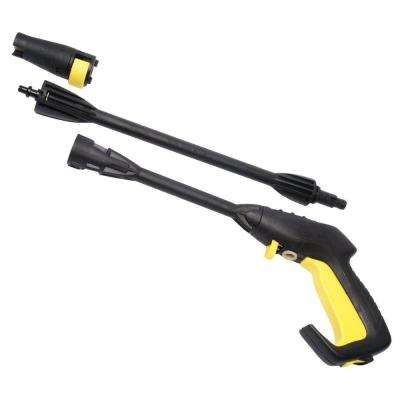 HPG15 Quick Connect Pressure Washer Gun with Nozzle and Safety Trigger Lock