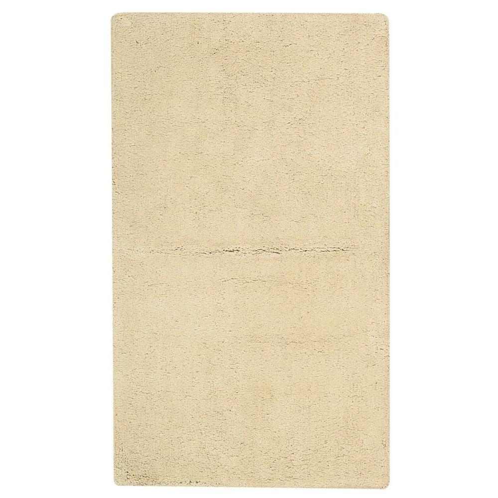Nourison Plush Tan 1 ft. 9 in. x 2 ft. 10 in. Bath Rug
