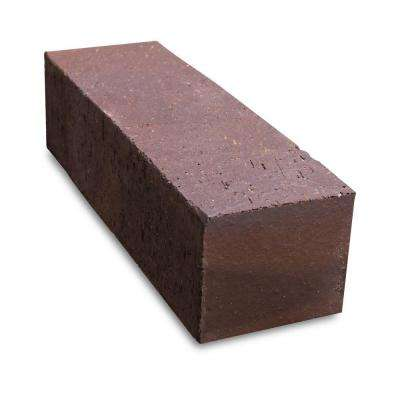11.5 in. x 3.5 in. x 3 in. Jumbo Brown Flashed Clay Edger Brick