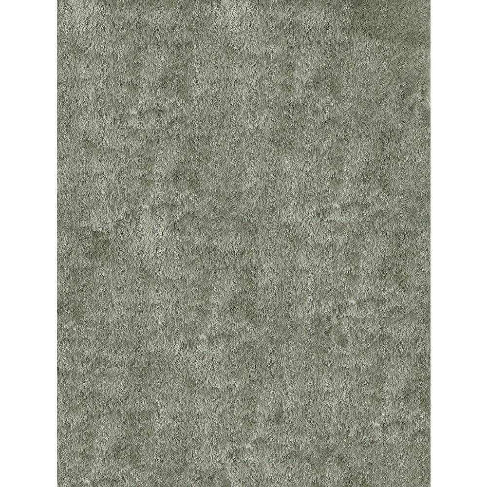 Momeni Luster Shag Sage 5 ft. x 7 ft. Indoor Area Rug