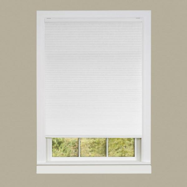 White 24W x 36H Any Size 19-72 Wide Cordless Top Down Bottom Up Cellular Honeycomb Shades