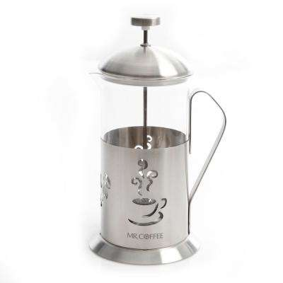 Gourmet Brew 4-Cup Coffee Press with Scoop