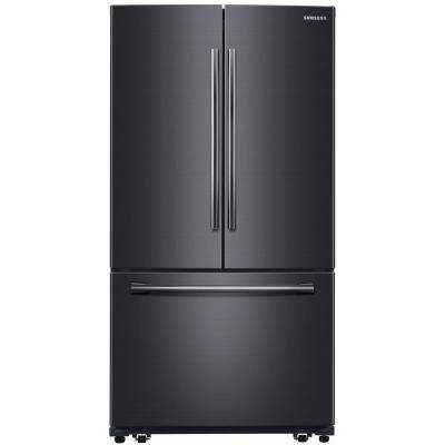 25.5 cu. ft. French Door Refrigerator in Fingerprint Resistant Black Stainless