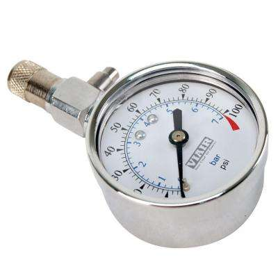 2 in. Tire Pressure Gauge (0-100 PSI)
