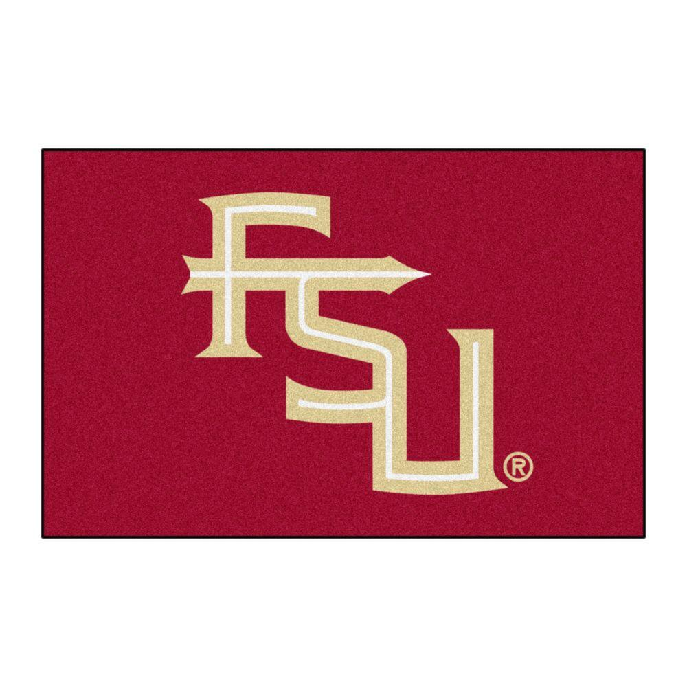 Ncaa Florida State University Red 1 ft. 7 in. x 2 ft. 6 in. Accent Rug