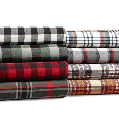 50 in. x 60 in. Edgewood Plaid Red Throw