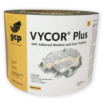 Vycor Plus 6 in. x 75 ft. Roll Fully-Adhered Flashing Tape (37 sq. ft.)