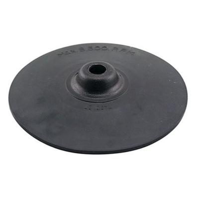 7 in. Rubber Backing Pad for use with 7 in. or 9 in. Angle Grinders, Angle Sanders, Disc Sanders or Polisher/Sanders