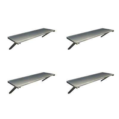 Utility Shed Shelf Kit for Palram Yukon Storage Sheds (4-Pack)