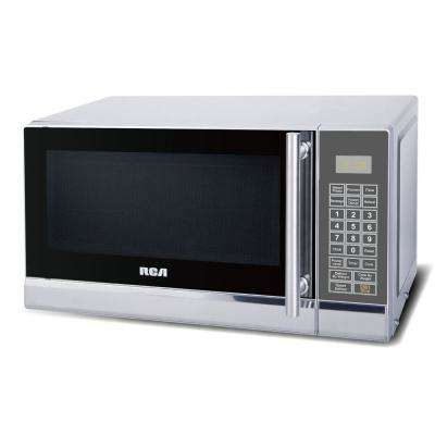 0.7 cu. ft. Countertop Microwave in Stainless Steel