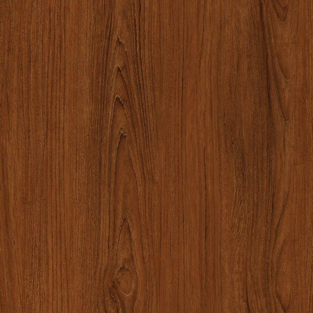 TrafficMASTER Take Home Sample - Allure Contract Oregon Cherry Resilient Vinyl Plank Flooring - 4 in. x 4 in.