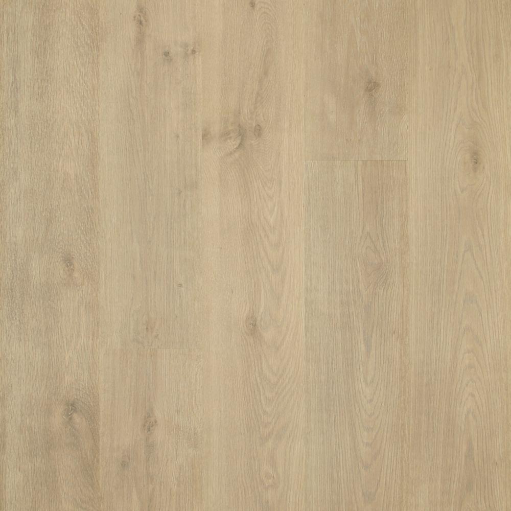 Take Home Sample - Natural Cascade Oak Laminate Flooring - 5 in. x 7 in.