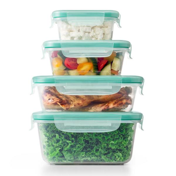 OXO Good Grips 20-Piece Smart Seal Plastic Container Set 11230000