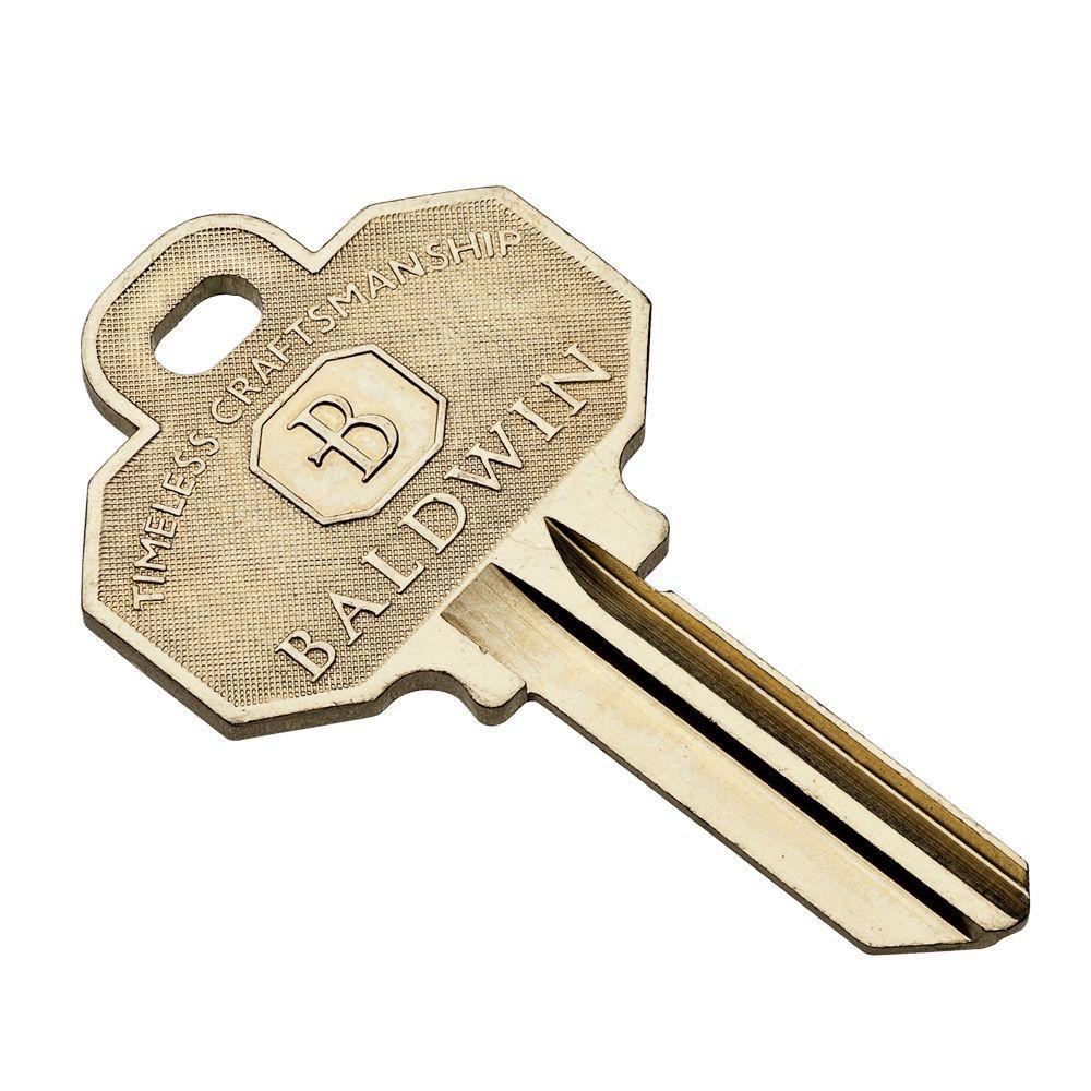 Blank House Key
