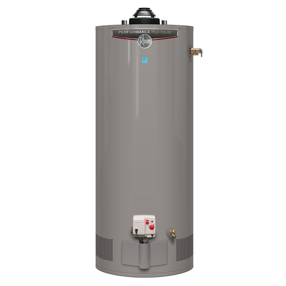 Rheem Performance Platinum 40 Gal. Short 12 Year 40,000 BTU Natural Gas ENERGY STAR Tank Water Heater