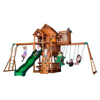 Skyfort II All Cedar Playset