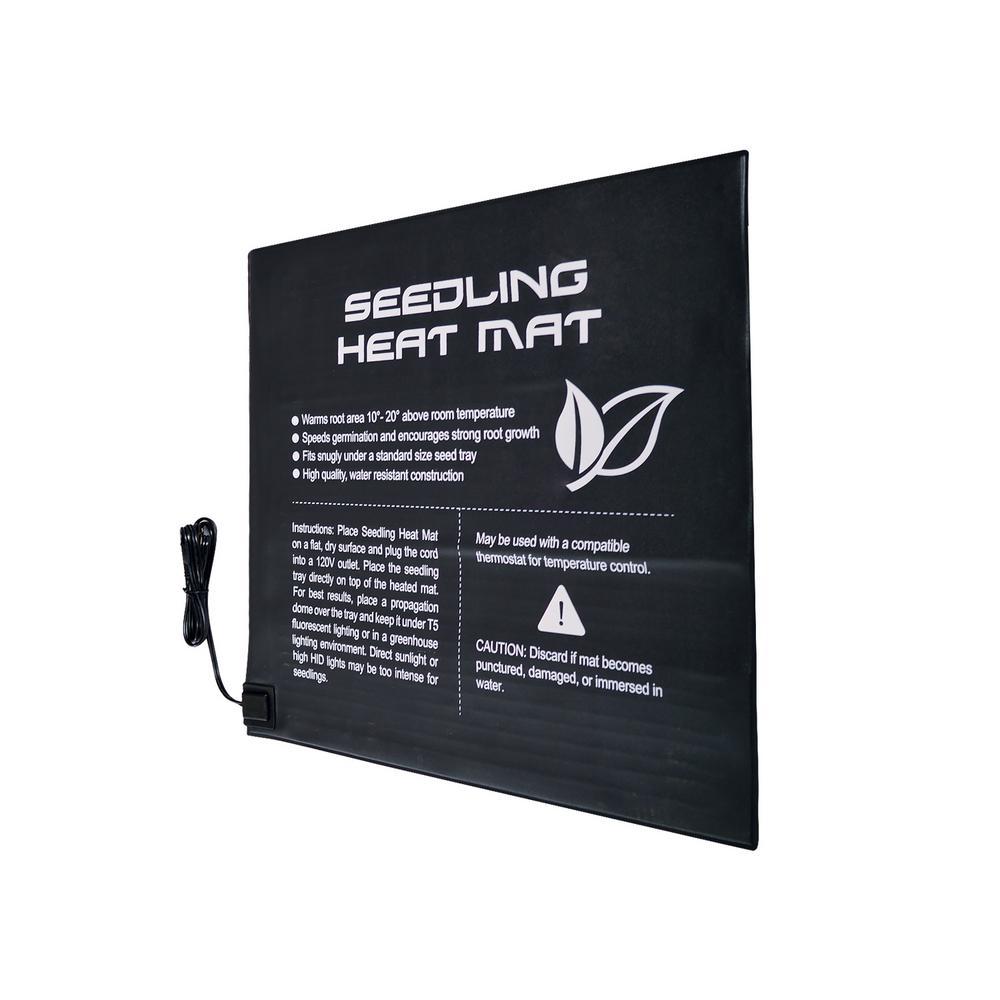 20 in. x 20 in. Durable Waterproof Seed Propagating Seedling Heat Mat 45-Watt