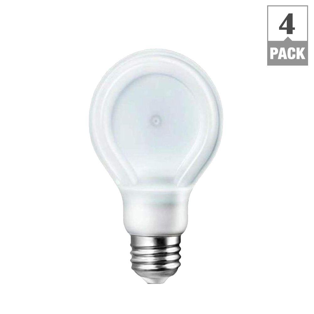 Ecosmart 40w Equivalent Soft White A19 Dimmable Filament: Philips SlimStyle 40W Equivalent Soft White (2700K) A19