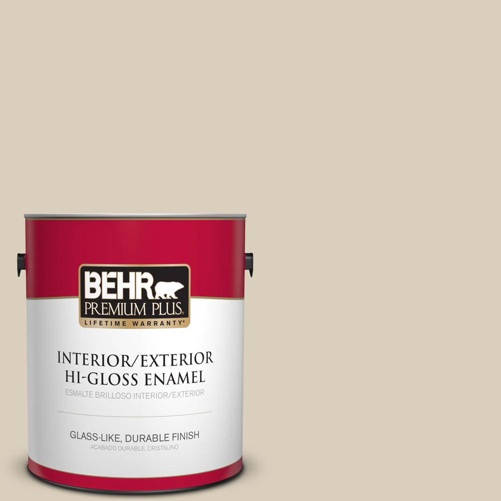 1 gal. #MQ3-15 Bell Tower Hi-Gloss Enamel Interior/Exterior Paint