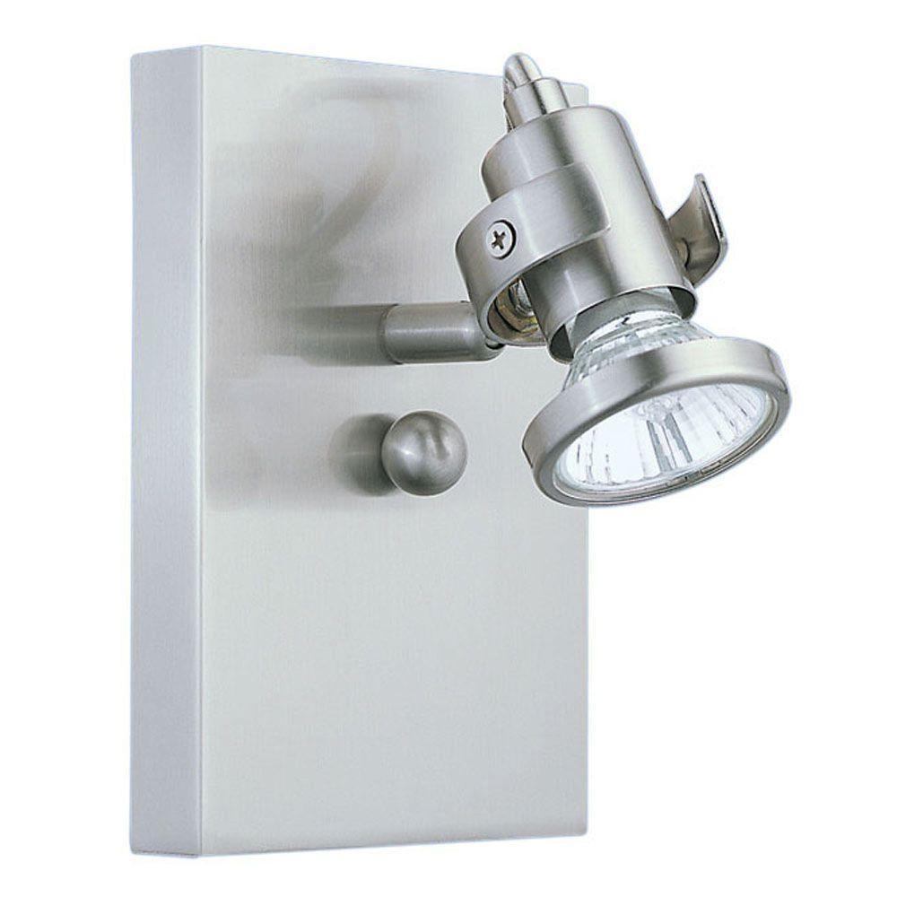 Eglo Tukon 1-Light Matte Nickel Wall Light