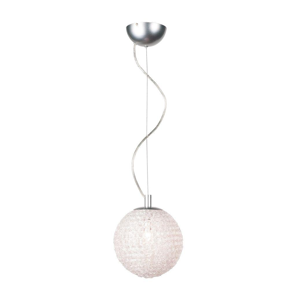 Eurofase Melody Collection 4-Light Hanging Chrome Large Pendant-DISCONTINUED