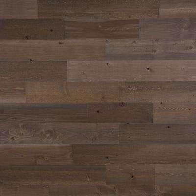 1/8 in. x 5 in. x 12-42 in. Peel and Stick Brown Wooden Decorative Wall Paneling (10 sq. ft./Box)
