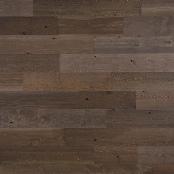 Timberchic 1/8 in. x 5 in. x 12-42 in. Peel and Stick Brown Wooden Decorative Wall Paneling (10 sq. ft./Box)
