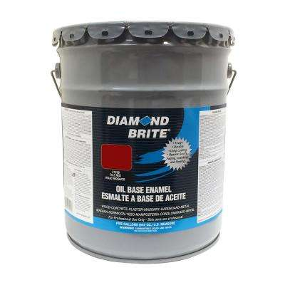 5 gal. Tile Red Oil Base Enamel Interior/Exterior Paint