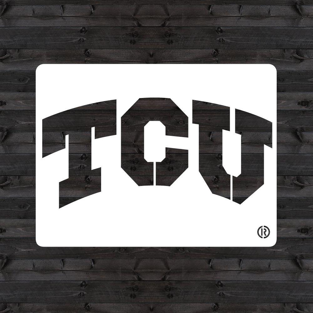 """""""TCU"""" Mini Stencil"""