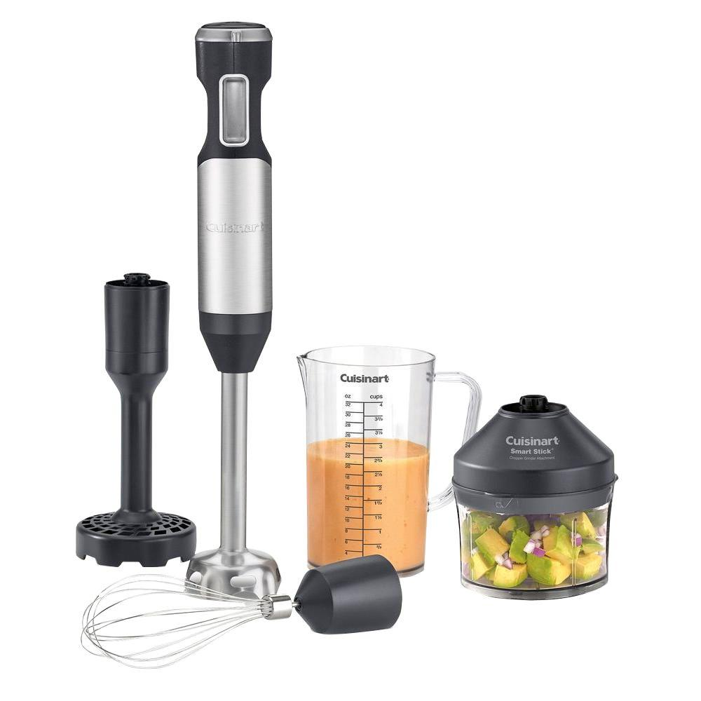Home Depot Tools Blender ~ Cuisinart smart stick variable speed hand blender kit csb
