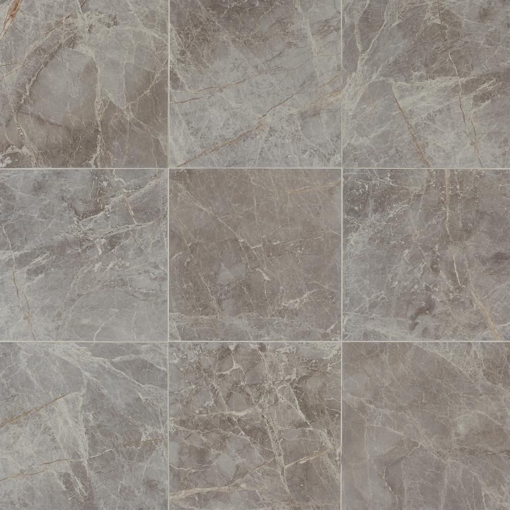 Daltile Hamilton Storm 18 In X 18 In Ceramic Floor And