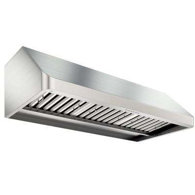 UC PRO Turbo 48 in. Under Cabinet Range Hood with LED in Stainless Steel