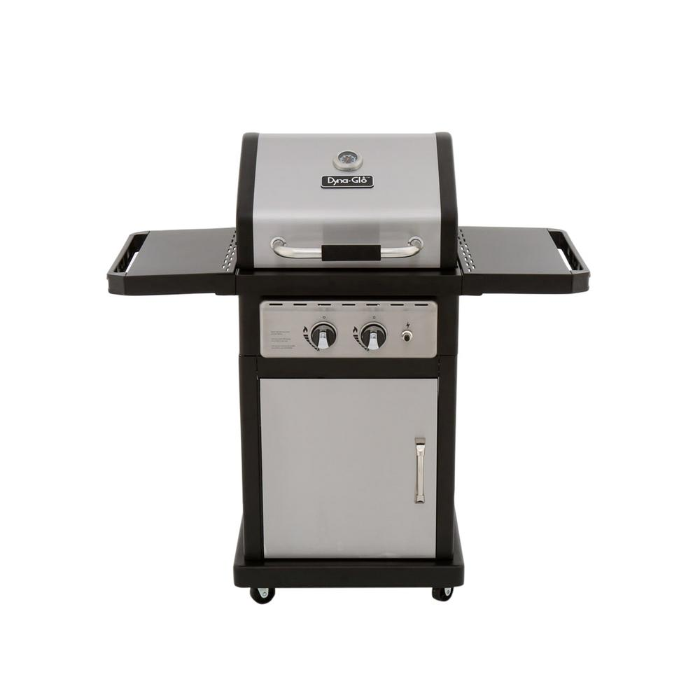 Dyna Glo Smart Space Living 2-Burner Propane Gas Grill in...