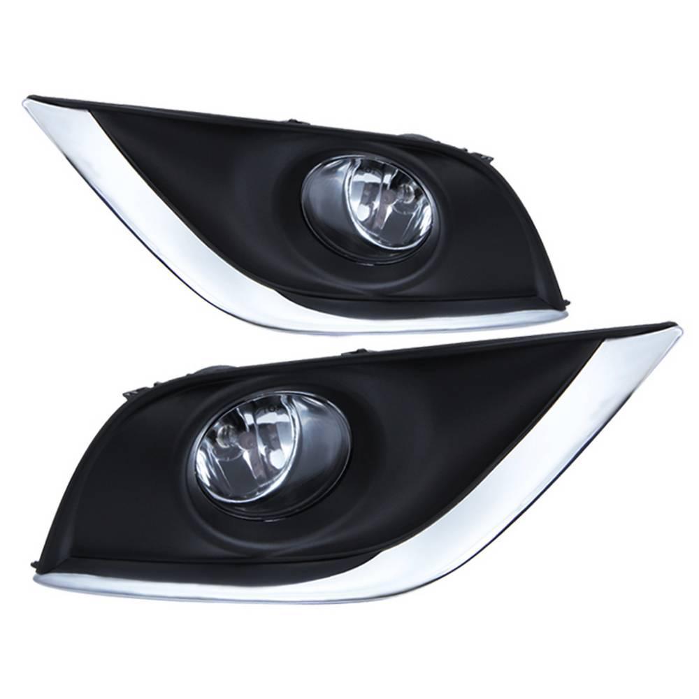 Nissan versa 2015-2017 OEM Fog Lights w/Switch - Clear