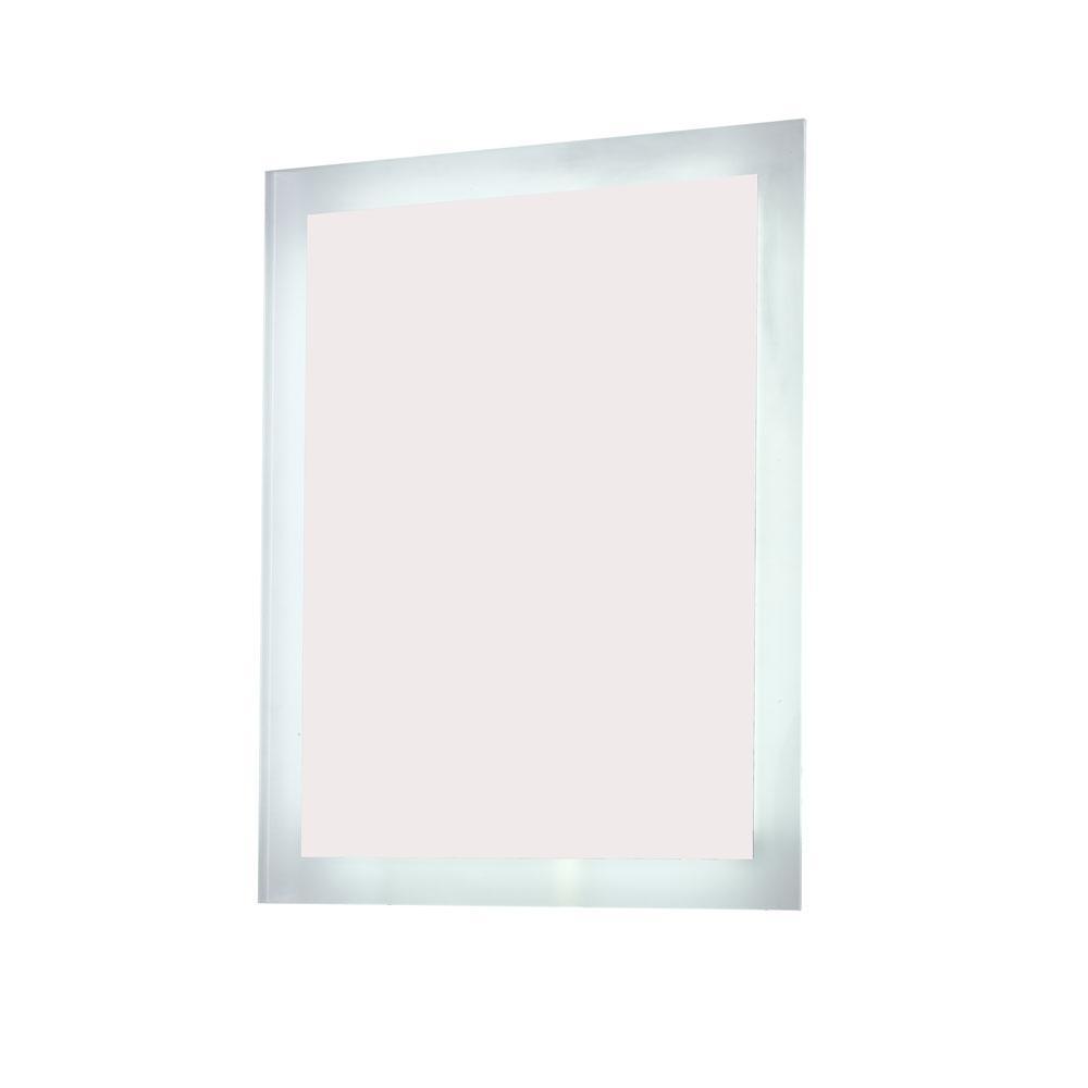 Innolight 24 in. W x 32 in. H Frameless Rectangular LED Light Bathroom Vanity Mirror