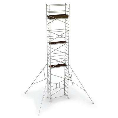31 ft. x 2.6 ft. x 5.4 ft. Easy-Set Scaffold Tower 800 lbs. Load Capacity