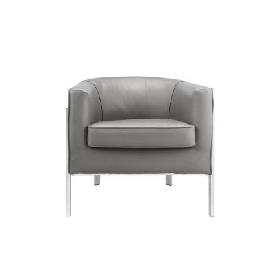 Tiarnan Grey Accent Chair