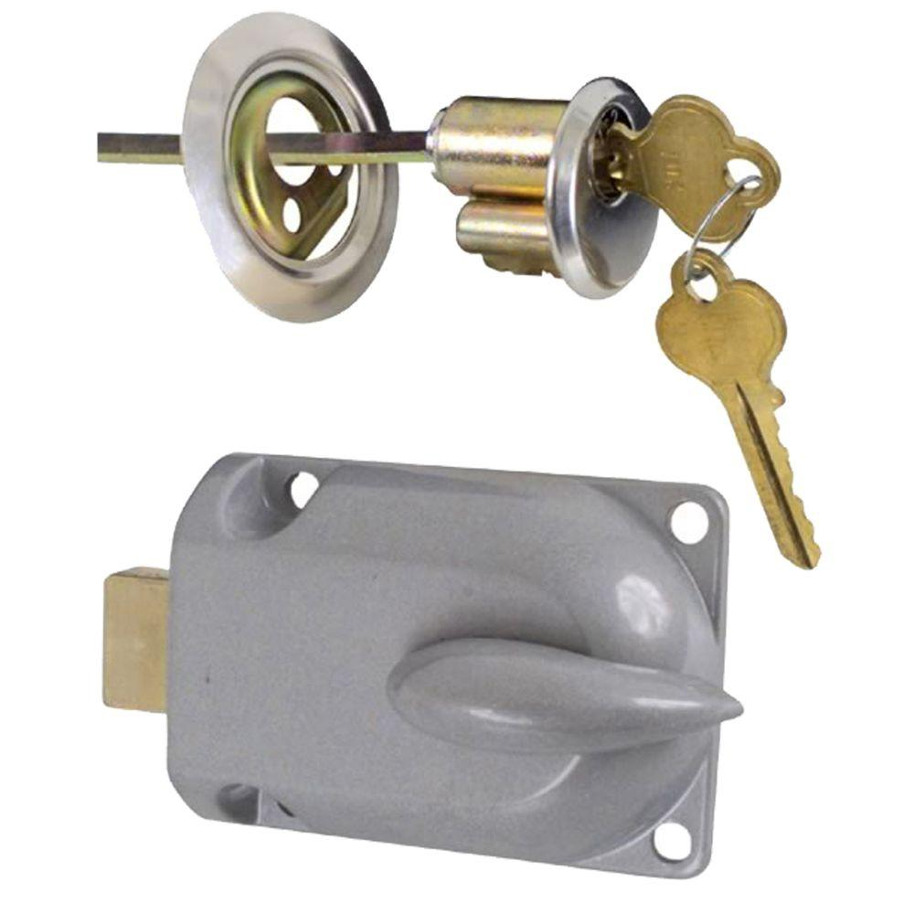 locks door using latch watch garage lock side from premium inside youtube