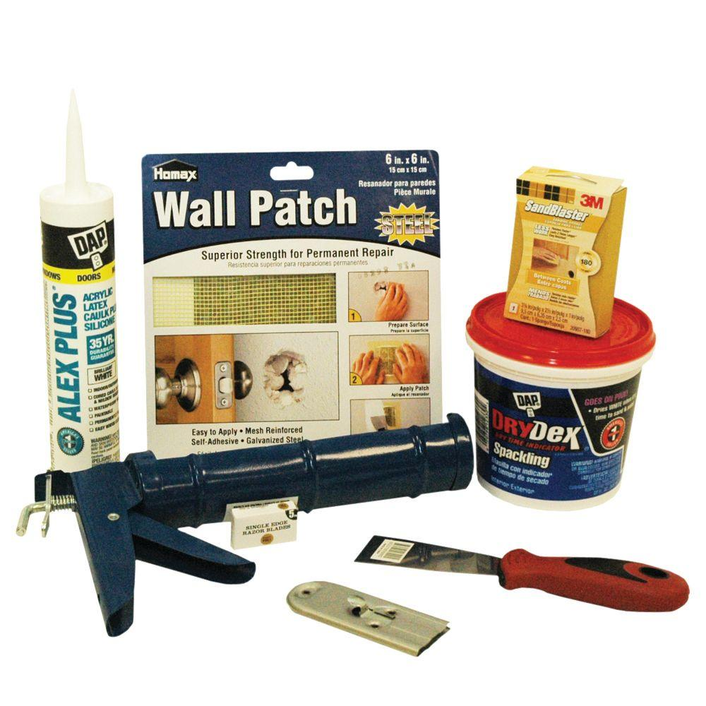 Merit Pro 8-Piece Caulk and Wall Repair Prep Kit - DISCONTINUED