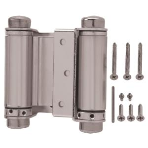Everbilt 3 In X 3 In Satin Nickel Double Action Spring