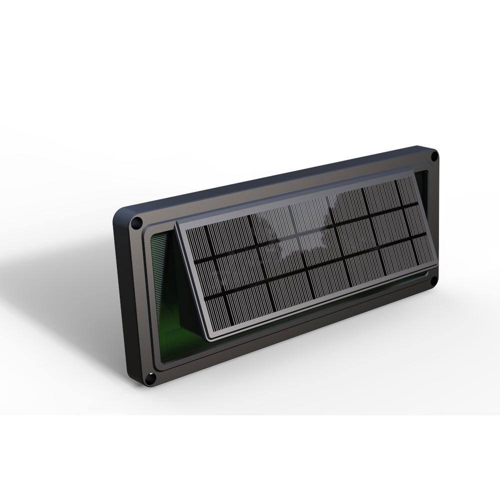 Eleding dark brown solar powered sound activated integrated led deck eleding dark brown solar powered sound activated integrated led deck lights with dusk to dawn outdoor aloadofball Image collections