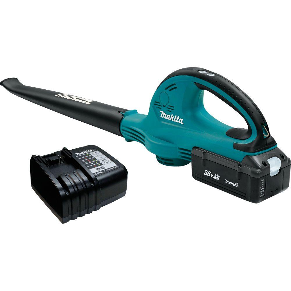 Electric Blowers Product : Makita volt lithium ion cordless blower kit mph