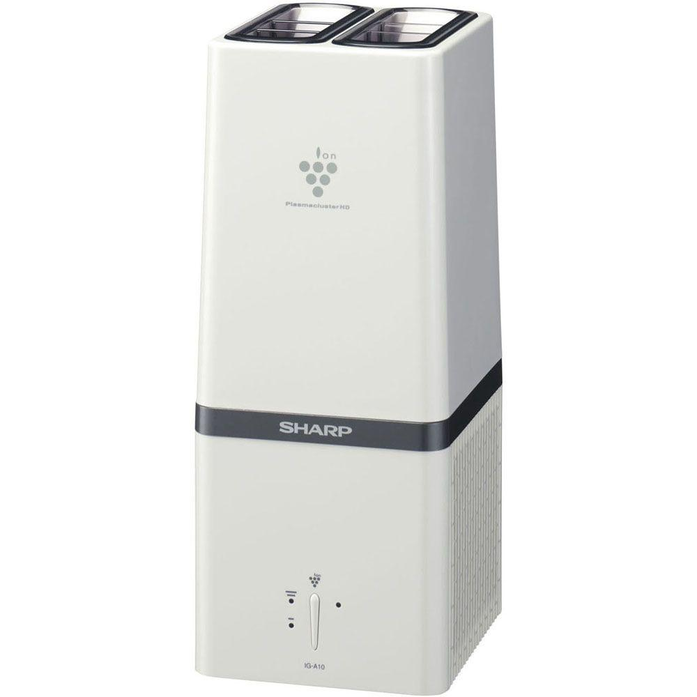 Sharp Tabletop Plasmacluster Ion Generator Air Purifier in White-DISCONTINUED