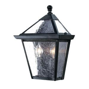 Acclaim Lighting Bay Street Collection 2-Light Matte Black Outdoor Wall-Mount Light Fixture by Acclaim Lighting