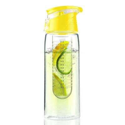 Pure Flavour2Go 20 oz. Yellow Water Bottle
