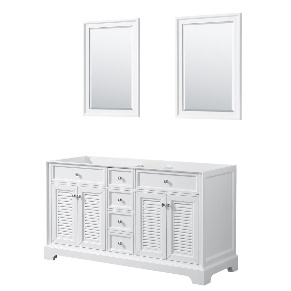 Tamara 60.25 in. Double Bathroom Vanity Cabinet Only with 24 in.