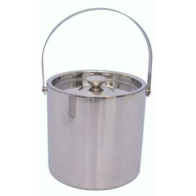 3 Qt. Stainless Steel Double Wall Ice Bucket