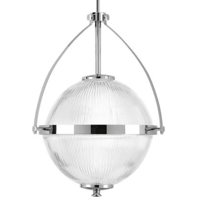 Ellyson Collection 1-Light Polished Chrome Pendant
