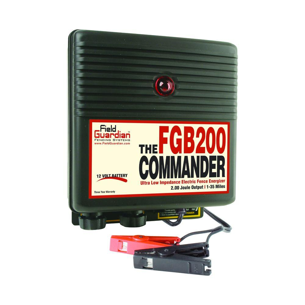 Field Guardian The Commander - 2 Joule Battery Energizer-DISCONTINUED