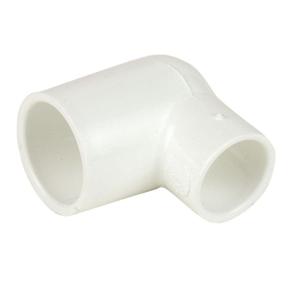 1 in. x 3/4 in. Schedule 40 PVC 90-Degree Reducing Elbow